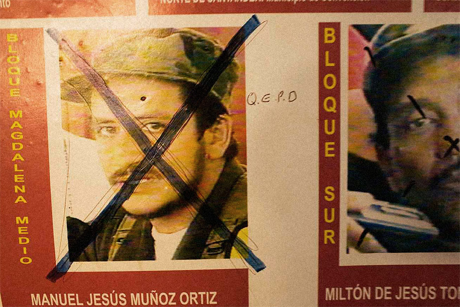Wanted Poster of FARC guerrilla leaders