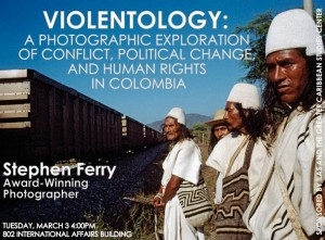 Discussion of Violentology at Columbia University