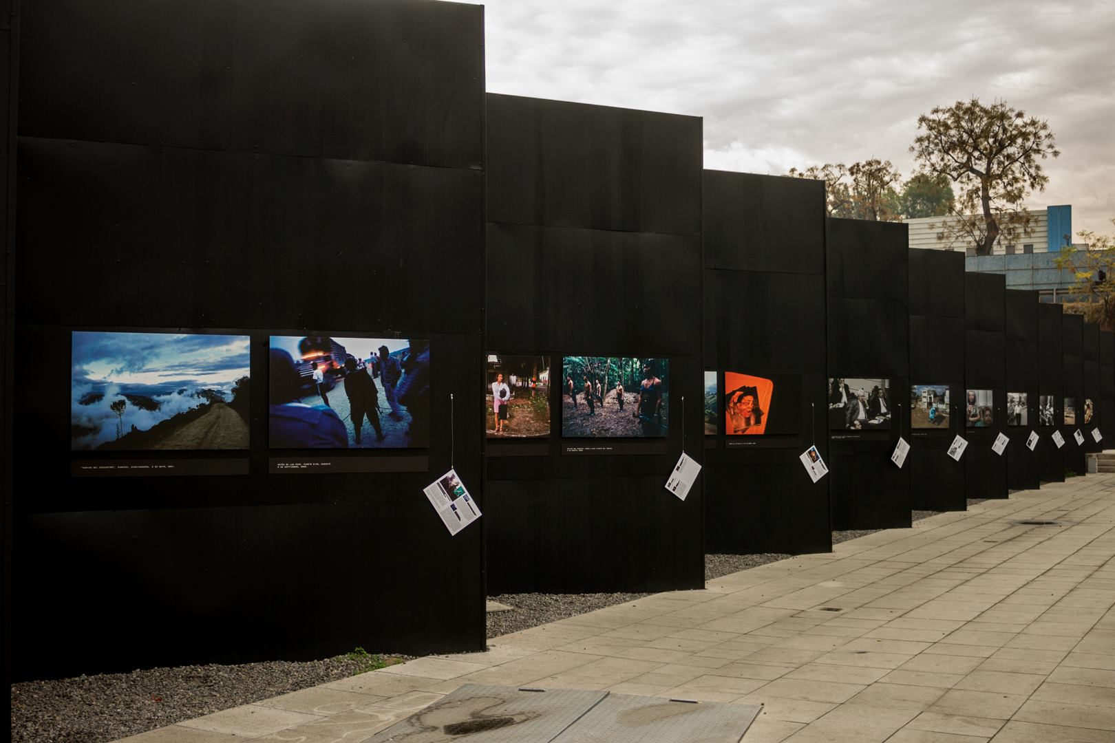 Exhibition of Violentology in Museum of Memory and Human Rights in Chile
